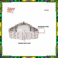 LONGBO Jam tangan fashion pria analog Stainless steel strap