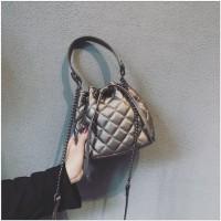 tas import wanita tas jinjing handbag champagne 20189 fashion keren