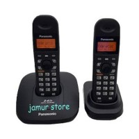 Jual Telepon Rumah Wireless Panasonic KX TG3612 Black Jaya Berkualitas