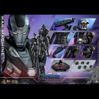 DP PO (PRE ORDER) - Hot Toys War Machine Avengers Endgame End Game