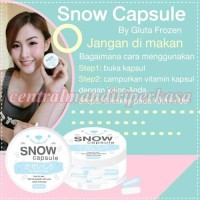 Melembabkan Mengenyalkan Mengencangkan Kulit snow capsule gluta frozen