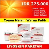 BPOM CREAM LIYOSKIN - PAKET SIANG + MALAM + SABUN