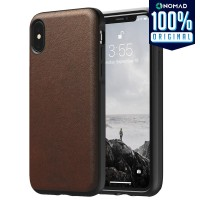 Case iPhone XS Max / XS / X / XR Nomad Rugged Premium Leather Casing
