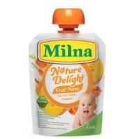Milna Nature Delight Carrot, Apple, Pumpkin 80gr - Pure Buah MPASI