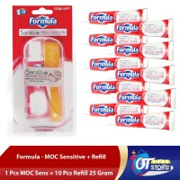 FORMULA SENSITIVE TRAVEL + REFILL PACK 10 PCS