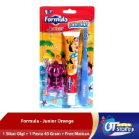 FORMULA JUNIOR SPECIAL PACK ORANGE + FREE MAINAN