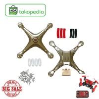 Harga drone ad594 syma paket body shell atas bawah sekrup cap lampu | antitipu.com