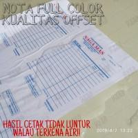 Cetak Nota NCR - 2 Rangkap (Custom)