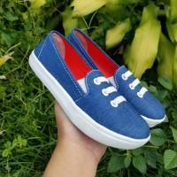 Sepatu Casual Anak Jeans