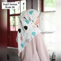 Hijab instan motif BI