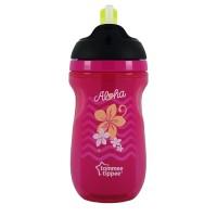 Tommee Tippee Gelas Sedotan Insulated Straw Cup Pink - 447025