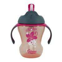 Tommee Tippee Gelas Sedotan Trainer Straw Cup Pink - 447017