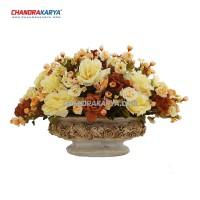 Dekorasi Bunga Mawar Melati Klasik - Sedang