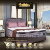 Holiday Springbed London: Natural Latex EuroTop + PillowTop [FullSet]