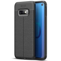 Samsung Galaxy S10e Softcase Motif Leather Silikon Soft Case Cover NEW