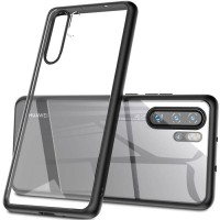 Huawei P30 Pro Back Hard Case Clear Acrylic With Soft Case Armor Side