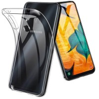 Samsung Galaxy A20 Softcase Clear Bening Silicon Back Soft Case Cover