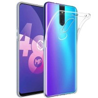 Oppo F11 Pro Softcase Clear Bening Silicon Back Soft Case Cover Casing