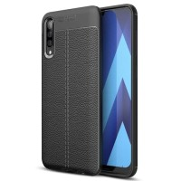 Samsung Galaxy A50 Softcase Motif Leather Silikon Back Soft Case Cover