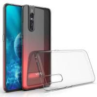 Vivo V15 Pro Softcase Clear Transparan Bening Silicon Soft Case Cover