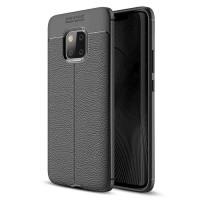 Huawei Mate 20 Pro Softcase Motif Leather Silikon Back Soft Case Cover