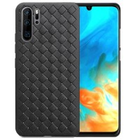 Huawei P30 Pro Softcase Cooling Mesh Leather Back Soft Case Cover NEW