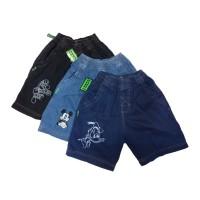 Celana Jeans Anak Pendek Karet size S dan M