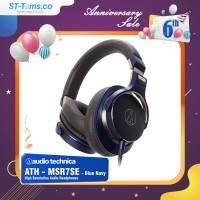 Audio Technica ATH MSR7SE / ATH-MSR7 SE High Resolution Headphone Navy
