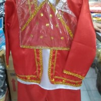 baju adat maluku anak Lk/Pr