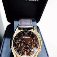 jam tangan kulit Emporio Armani wanita / jam Emprio Armani Classic
