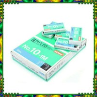 ISI STAPLER - ISI STAPLES KENKO STAPLES NO 10-1M ( 1 BOX ISI 20 BOX