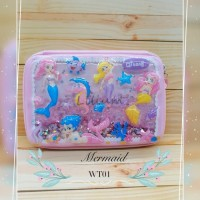 Kotak Pensil Hardcase Mermaid Water WT01 model smiggle