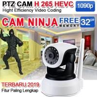 PAKET CCTV NINJA ROBOTIC KAMERA + BONUS MEMORI