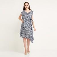 REE Floral Wrap Dress - Multicolor