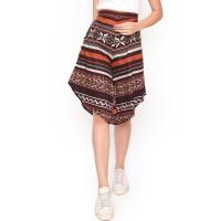 MOSIRU Celana Kulot Batik Wanita Katun Stretch Termurah 30100089