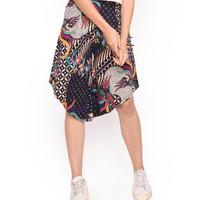 MOSIRU Celana Kulot Batik Wanita Katun Stretch Termurah 30100095