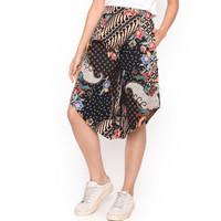 MOSIRU Celana Kulot Batik Wanita Katun Stretch Termurah 30100094