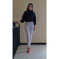 Jual Terfavorit Celana Legging Wanita Warna Putih Terbaru L High Quality Kab Temanggung Legging Bahan Tebal Tokopedia