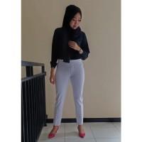 Jual Riseller Celana Legging Warna Putih Polos Size Xl High Quality Asli Kab Temanggung Celana Legging Jumbo Tokopedia