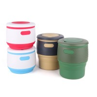 Silicone Folding Retractable Mug Collapsible Coffee Cup Outdoor