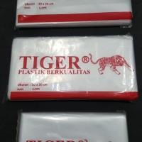 """Plastik Makanan bening merk """"TIGER"""" 200 gram"""