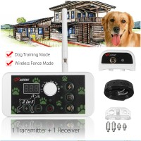 Active 2 in 1 Wireless Dog Fence Training Containment System