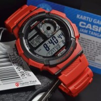 Jam Tangan Casio ILLMUNITATOR Salarms Water Resort 100m
