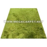 Karpet Bulu Shaggy Polos Premium 140 x 180 [IMPORT] - GREEN