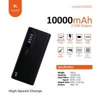 Power Bank Jete Jupiter 10000Mah - Original Garansi 1 Tahun