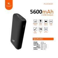 Power Bank Jete Rock 5600Mah - Original Garansi 1 Tahun