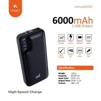 Power Bank Jete Venus 6000Mah - Original Garansi 1 Tahun