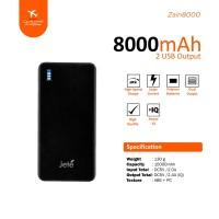 Power Bank Jete Zain 8000Mah - Original Garansi 1 Tahun