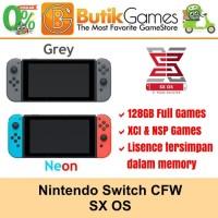 Nintendo Switch CFW 128GB SX OS / SX PRO