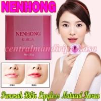 pemerah bibir alami nenhong korea pemerah bibir yang glossy natural